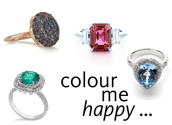 Scope Our Top 10 Coloured-Stone Engagement Rings