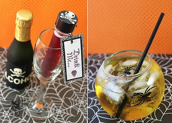 8 Ways to Dress Up Halloween Drinks
