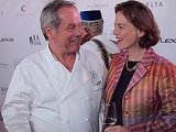 Wolfgang Puck and Dana Corwin
