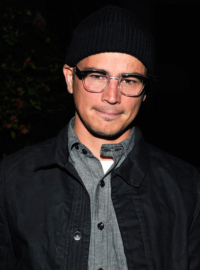 Josh Hartnett went low-key in a beanie.