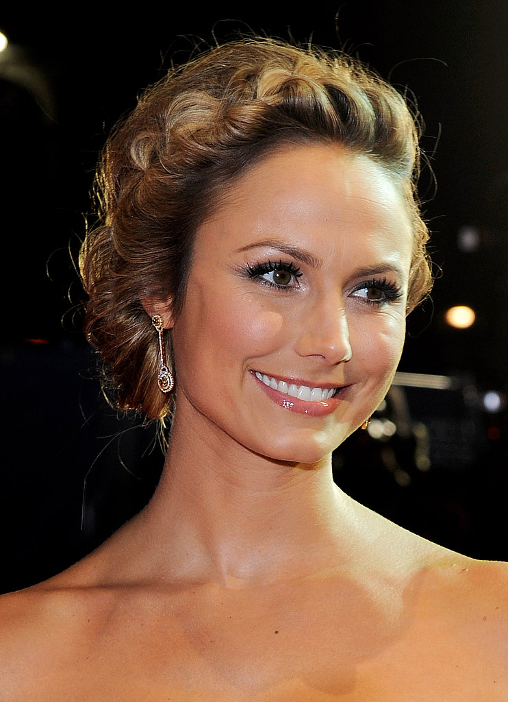 Stacy Keibler in London.