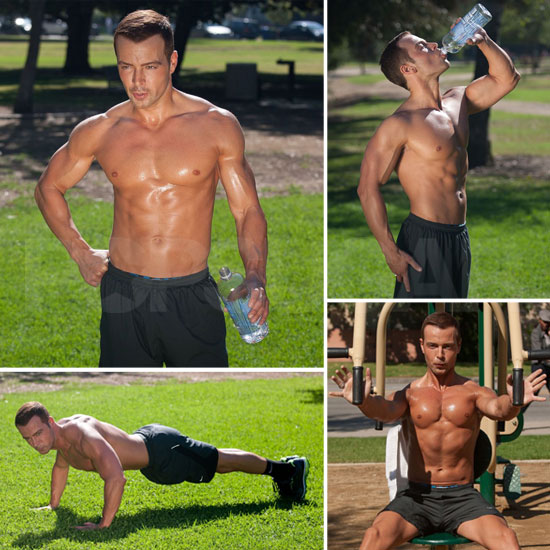 Joey Lawrence Shows Off a Ripped Shirtless Body and Impressive Six-Pack!