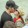 Drew Barrymore and Will Kopelman Kissing Pictures