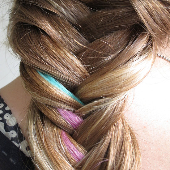 How to Create a Colourfully Cool Fishtail Braid