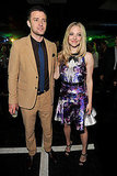 Justin Timberlake and  Amanda Seyfried were arm in arm at the In Time premiere party.