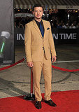 Justin Timberlake attended the In Time premiere in LA.