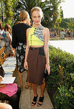 Kate Bosworth at a Vogue party at the Chateau Marmont.