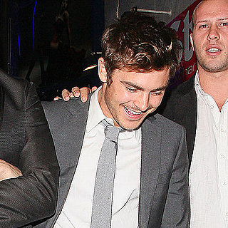 Zac Efron Birthday Party Pictures in London