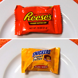 Halloween Candy With Fewest Calories