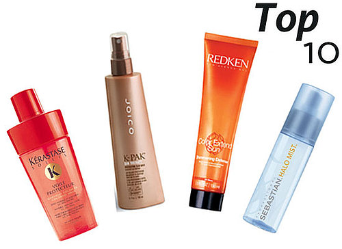 Top Ten Hair Protectant Products Featuring UV Broad Spectrum Protection
