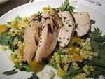 Grilled Chicken, Corn, and Tomato Salad