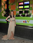 Coco Rocha Poses at the eBay Inspiration Shop