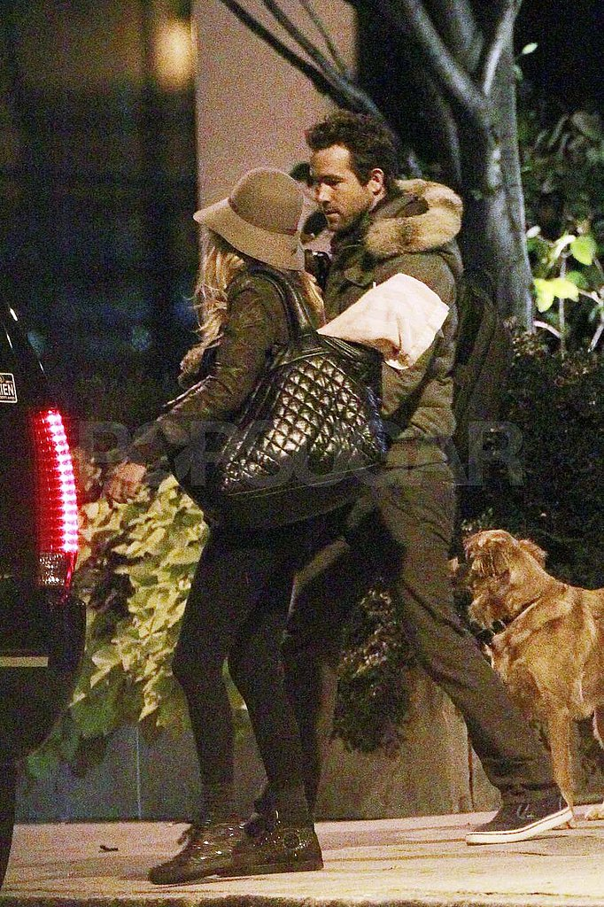 Ryan Reynolds and Blake Lively in Boston.