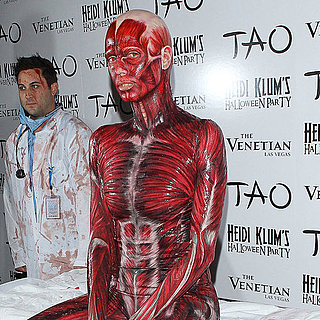 Heidi Klum Halloween Party Pictures 2011