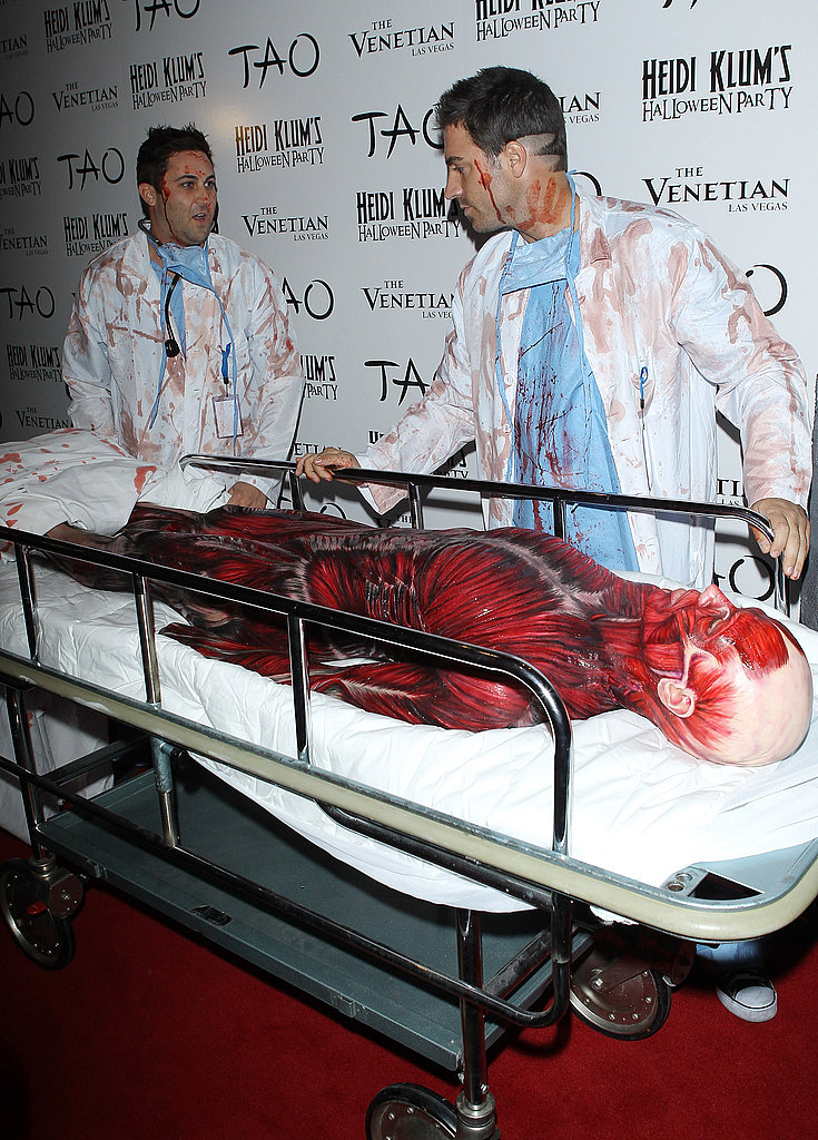 Heidi Klum's Halloween party in Las Vegas.