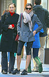 Miranda Kerr at the gym in NYC.