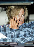David Spade at Kate Hudson's Halloween party.
