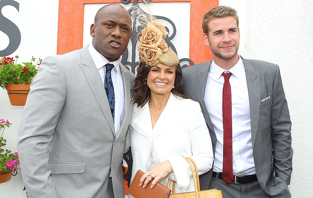 2010: Wendell Sailor, Lisa Wilkinson and Liam Hemsworth