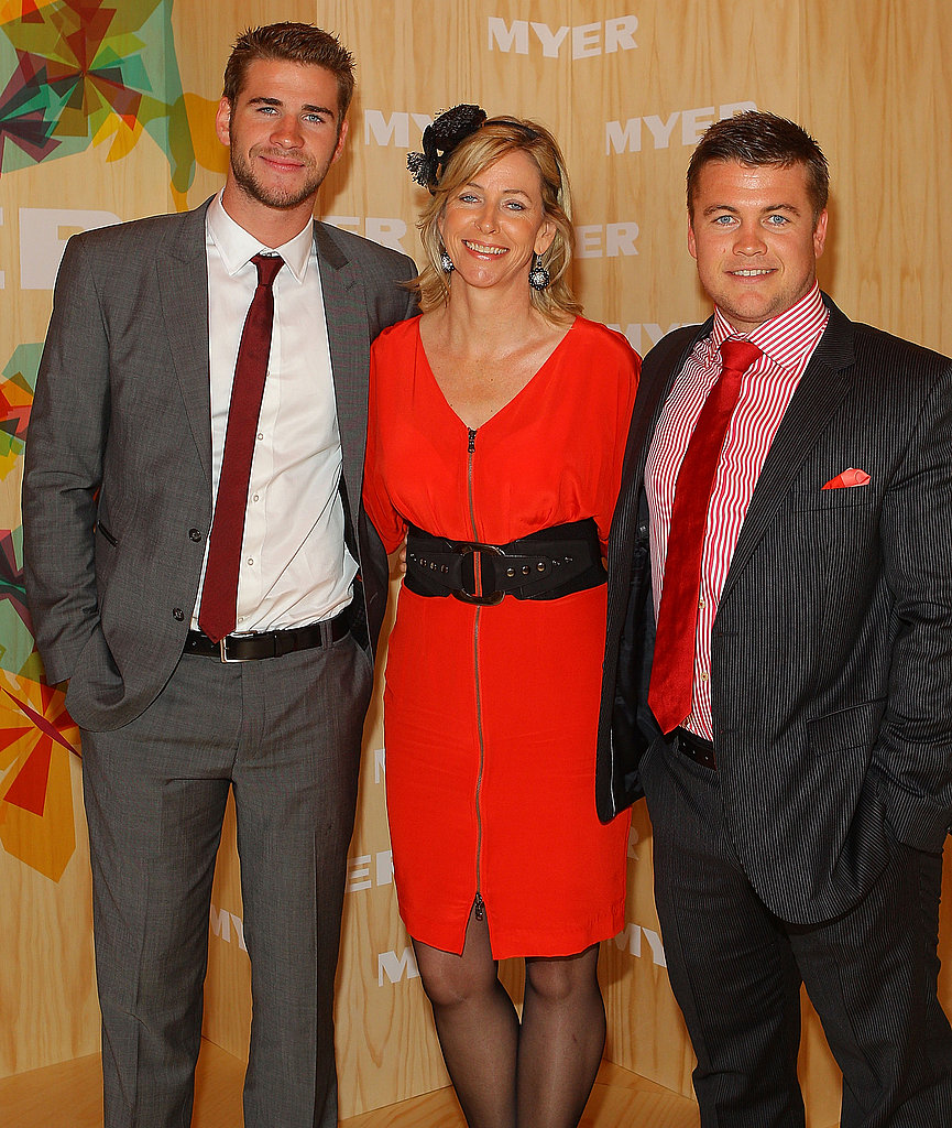 2010: Liam, Leonie and Luke Hemsworth