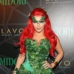 Celebrities in Halloween Costumes in NYC 2011 Pictures