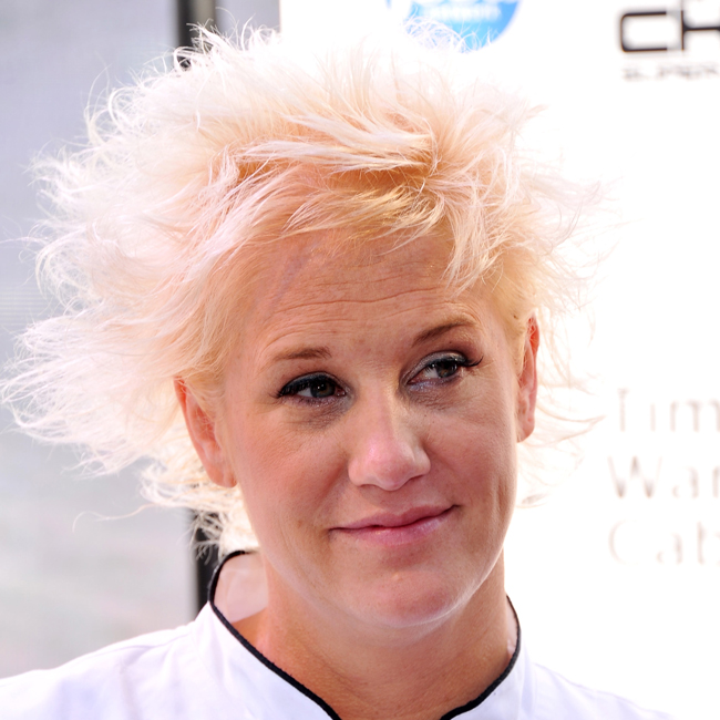 Anne burrell interview about the next iron chef super chefs