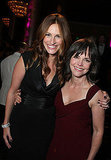 Julia Roberts reunited with her Steel Magnolias costar Sally Field at the American Cinematheque Awards in 2007.