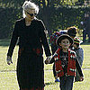 Gwen Stefani at Park in London With Zuma & Kingston Pictures