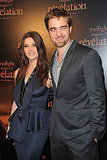 Ashley Greene and Robert Pattinson were reunited for a premiere in Paris.