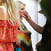 Pregnant Jessica Simpson & Eric Johnson in Palm Springs Pictures