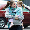 Pregnant Jennifer Garner Carrying Seraphina Affleck Pictures