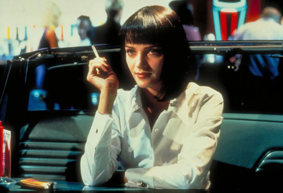 Mia Wallace From Pulp Fiction