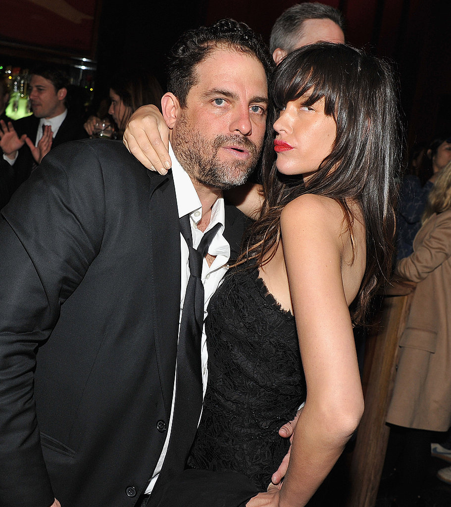 Brett partied with Paz de la Huerta.
