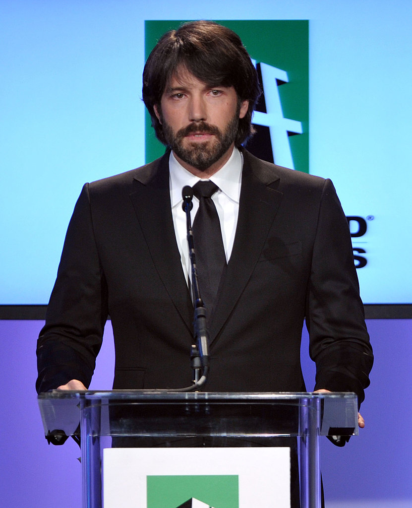 Ben Affleck rocked his Argo hair at the 2011 Hollywood Film Awards.