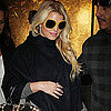 Jessica Simpson Pregnant Pictures Shopping at Bergdorf Goodman
