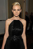 Carey Mulligan posed in Bottega Veneta at the Hollywood Film Awards.