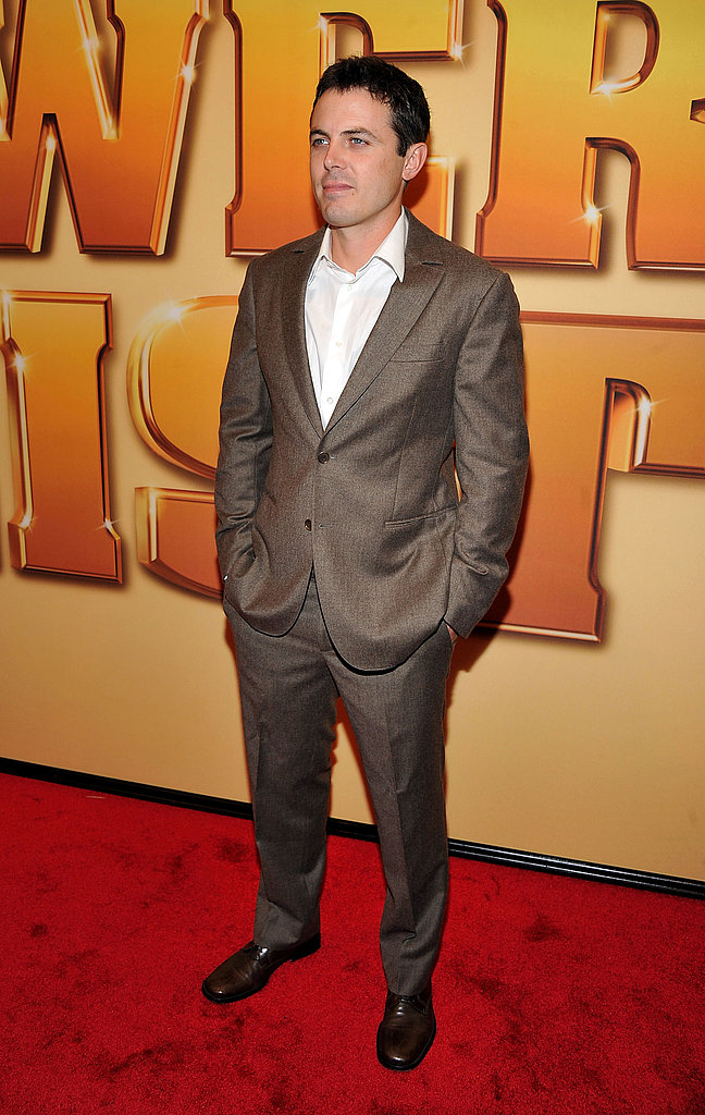 Casey Affleck wore a suit for the NYC premiere.