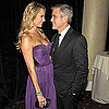George Clooney, Stacy Keibler Pictures at Hollywood Film Awards Gala