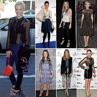 Celebrities Wearing Sheer Clothing Fall 2011