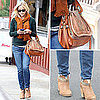 Reese Witherspoon's Chloe Bag and Rag and Bone Booties