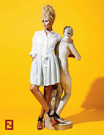 Fendi Resort 2012 Campaign