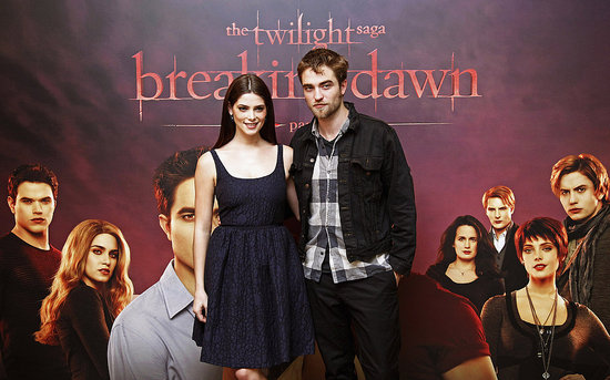 Robert Pattinson and Ashley Greene promoted Breaking Dawn: Part 1 in Brussels.