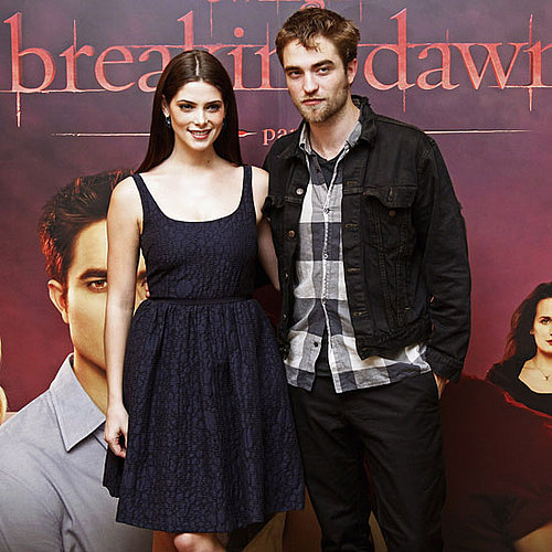 Robert Pattinson and Ashley Greene in Brussels Pictures