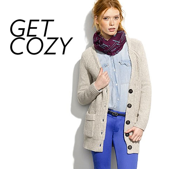 Bundle Up Stylishly in These Chunky Cardigans