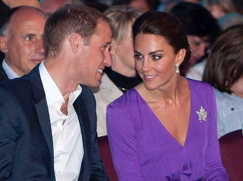 Kate and William enjoyed themselves at a concert for Canada Day in 2011.