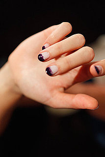 How To Get Ombre Nails - Black Nail Polish Trend