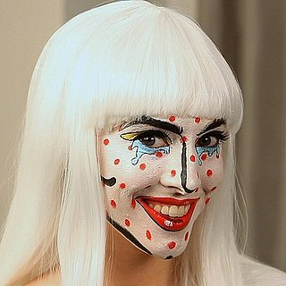 Pop Art-Inspired Makeup For Halloween