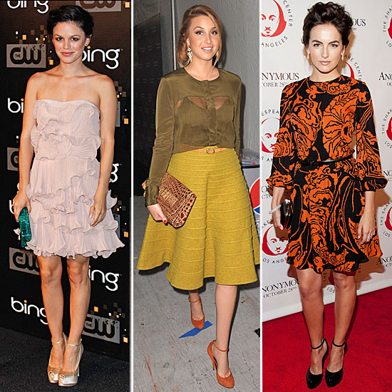 Celebrity Accessory Report: Ankle-Strap Pumps
