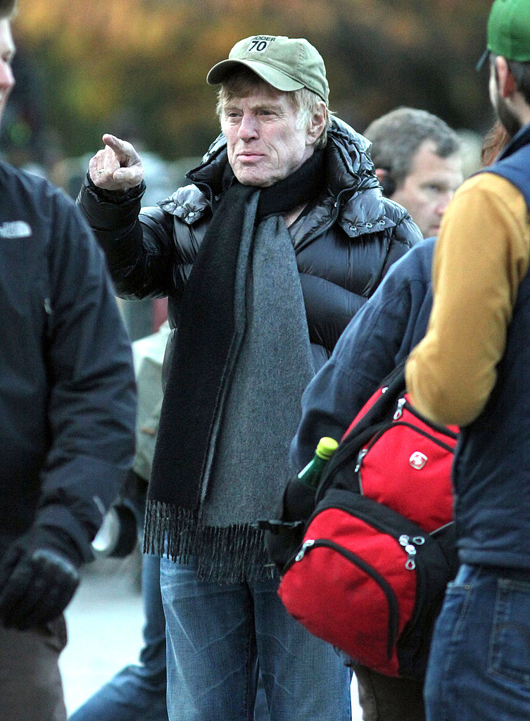 Robert Redford directed Shia in a scene.