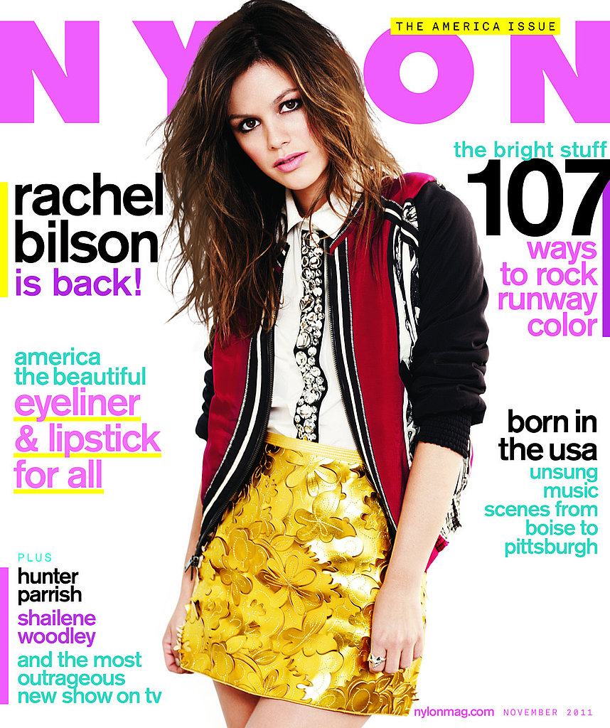 Rachel Bilson on the cover of Nylon.