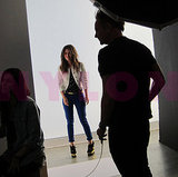 Rachel Bilson at Nylon photo shoot.
